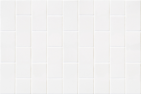 pale color: modern white wall made of pale color bricks mosaic in rectangle form