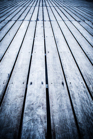 vignetting: old wooden aged floor in vintage style with vignetting