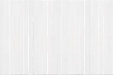 grid: background closeup of white narrow ceramic strips in rectangle format with vertical structure Stock Photo