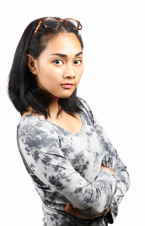Young asian woman photo