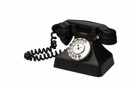 assume: antique telephone