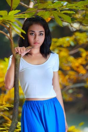 Young asain girl