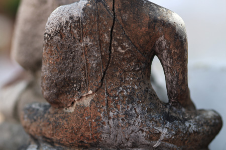Ancient Buddha Thailand photo