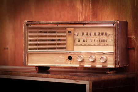 shortwave: Old radio