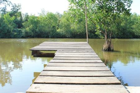 River bridge Stock Photo