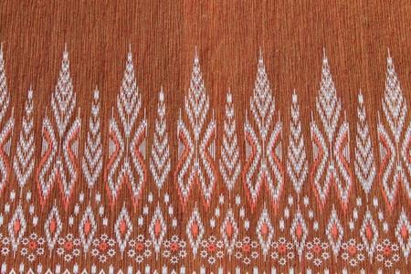 Thai designs on the cloth