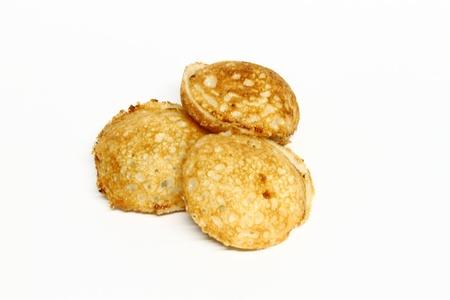(Khanomkrok) desszert kókusz tejjel és cukorral thai stílusban
