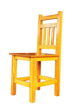 wooden chair: Chairs made of solid wood