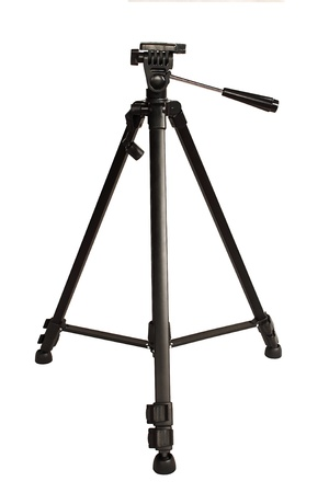 The tripod for photo and video cameras