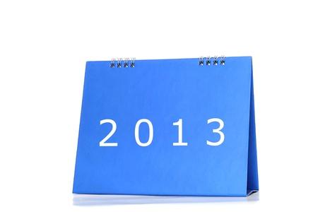 Desktop calendar Stock Photo