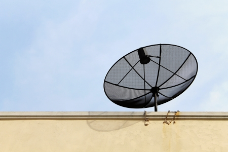 Satellite dish of technology photo