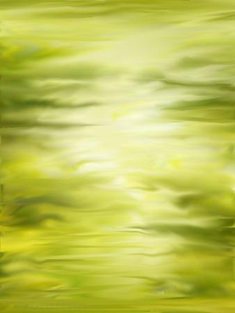 futuristic nature: Abstract blur green