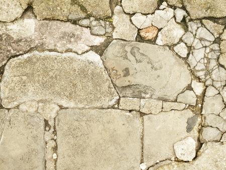 rupture: cracked concrete background