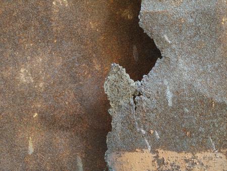 Zinc rust and steel texture