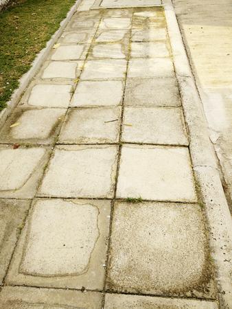the way stone Stock Photo