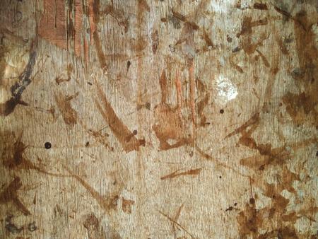 Wood dirty floor Stock Photo