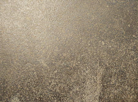 Steel walkway mats red rust.