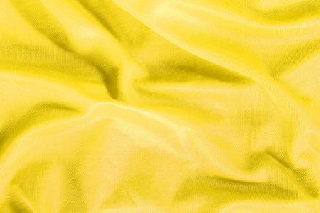 Yellow fabric texture Stock Photo