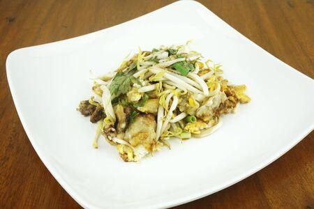 Fried clams, fried food in Thailand Standard-Bild
