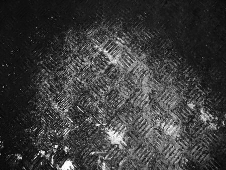 black dirty stainless steel background