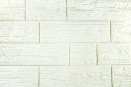 Floor tiles tone white texture Standard-Bild