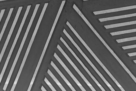 abstract line plastic black and shadow Standard-Bild