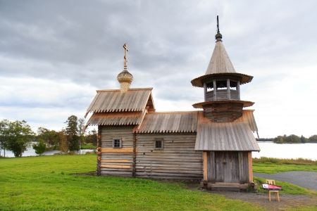 Wooden church in Kizhi