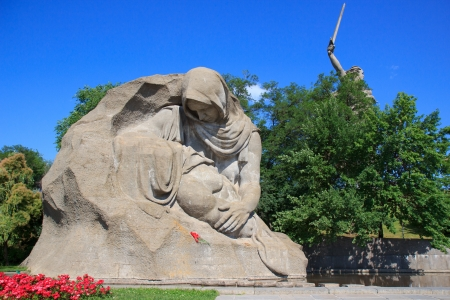 World War II Memorial on Mamayev Kurgan, Volgograd photo