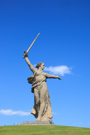 World War II memorial  Motherland Calls , Volgograd, Russia photo