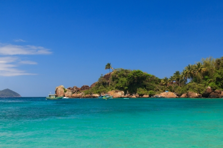 Paradise island Ilha Grande, Brazil