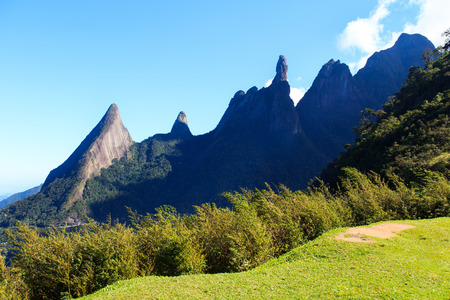 Mountain Dedo de Deus  God s finger , Brazil photo