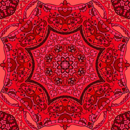Nahtlose Muster. Dekorative Muster in schönen Farben. Vektor-Illustration Illustration