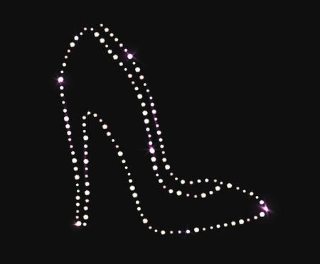 Chaussure à talon haut