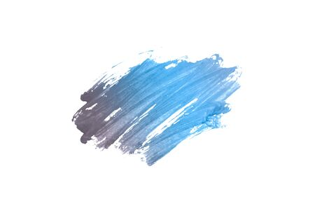 Blue watercolor for your design Stock Photo
