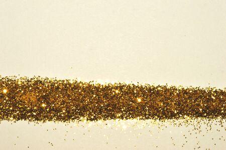 Gold glitter, shiny background in vintage nostalgic colors