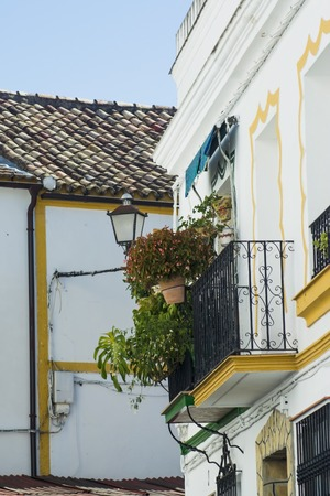 Detail of typical village of Andalucia in Spain