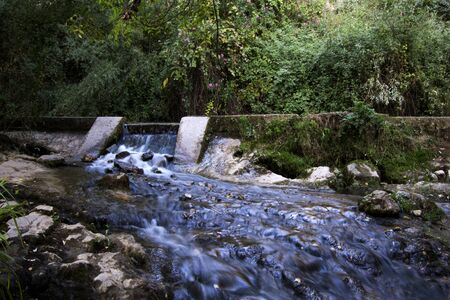 Landscape of a river in summer 版權商用圖片