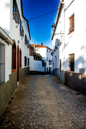 Andalusia village in Spain, summer time