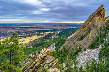 ボルダー (コロラド州) 写真素材