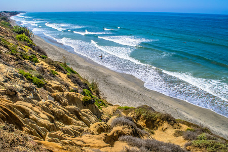 Beach in San Diego Stock Photo