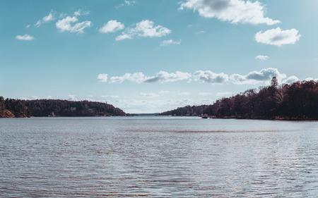 Landscape view in the Turku archipelago Stock Photo