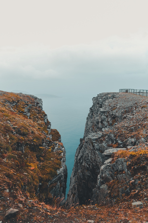 Nordkapp, most northern point of Europe and Norway