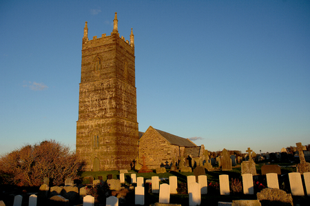 world war two: St Eval World War Two Church England