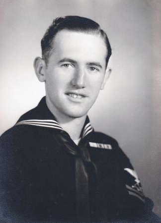 ww2: WW2 U.S. Navy Pearl Harbor Portrait Editorial