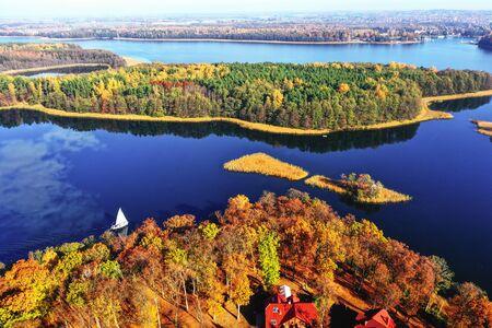 autumn in Masuria in north-eastern Poland