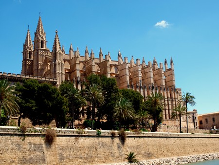 La Seu, cathedrale in Palma de Mallorca, spain, europe photo