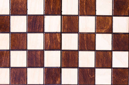 Vintage wooden chess board background
