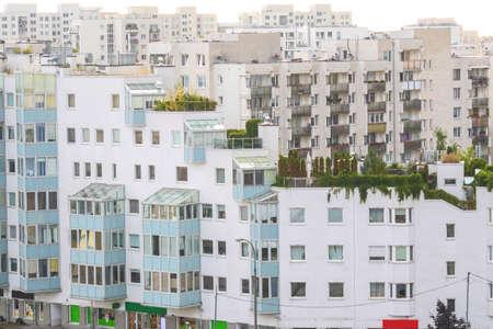 Housing blocks of residential district in Warsaw