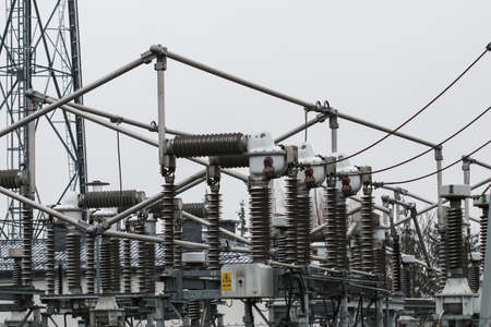 Details of 100 kV transformer power substation located in Poland
