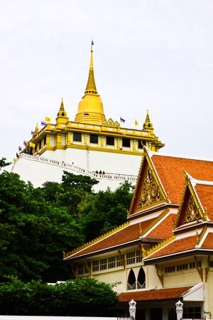Pho khao thong temple,bangkok,thai land  Stock Photo - 18326470